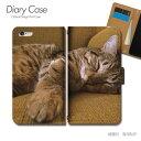 Tiara Xperia Z スマホケース SO-02E ねこ16 手帳型 [d026702_01] 猫 ねこ ネコ 写真 ペット 子猫 かわいい