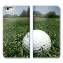 GALAXY S9+ Plus SC-03K ケース 手帳型 ベルトなし ゴルフ グリーン スポーツ クラブ スマホ カバー スポーツ01 eb26803_04