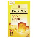 ショッピング紅茶 Twinings Ginger Infusion (Pack of 8)