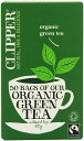ショッピングフェアトレード Clipper Fairtrade Organic Green 50 Teabags (Pack of 6, Total 300 Teabags)