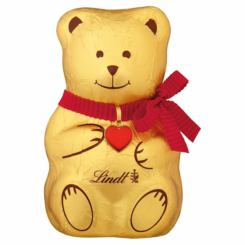 Lindt Teddy Bear 100g クリスマス チョコレート リンツ テディベア スイスチョコ【英国直送】