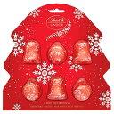 LindtLindorChocolateTreeDecorations6x20gリンツクリスマスミルクチョコレートクリスマスツリー20Gx6スイスチョコ【英国直送】