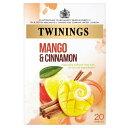 ショッピング紅茶 Twinings - 20 x Sachets Orange Mango & Cinnamon - 40g