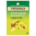 Twinings Green Tea Pineapple Grapefruit 20 Bag е╚еяеде╦еєе░е░еъб╝еєе╞егб╝е╤еде╩е├е╫еые░еьб╝е╫е╒еыб╝е─20┬▐