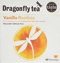 ショッピングルイボスティー Dragonfly Vanilla Rooibos Tea 40 Bag バニラルイボスティー 40ティーバッグ オーガニック ルイボス茶 有機 バニラの香り