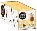 ショッピングネスカフェ DOLCE GUSTO Latte Macchiato Vanilla x 4 ネスカフェ ドルチェグスト カプセル 8+8杯分×4箱 - 並行輸入品