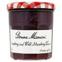 ショッピングママン Bonne Maman Strawberry and Wild Strawberry Conserve (370g) ボンママン イチゴと野イチゴ