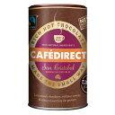 Cafedirect リッチ ホットチョコレートパウダー 2 in 1; 250g (8.81オンス)、ドミニカ共和国、サンクリストバル供給、イギリス製