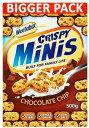ショッピングお取り寄せ Weetabix Crispy Minis Chocolate Chip (500g) ウィータビックスミニ クリスピーチョコチップ
