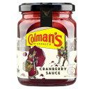 Colman's Cranberry Sauce (265g) コールマン クランベリーソース( 265グラム)