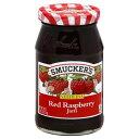 スマッカーズ ラズベリージャム Smuckers Jam Seedless 18 Oz (Pack of 4) (Red Raspberry) by Smucker's
