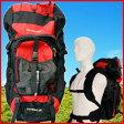 送料無料 リュックサック 大容量 ザック バックパック 55L リュック バック バッグ かばん カバン 大きい 登山 キャンプ用品 登山用品 旅行 アウトドア OUTLANDER EXTREME55 メンズ レディース