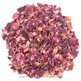 ローズレッド 50gローズレッドペタル:ローズペタルレッド:花びら:ローズティー:薔薇茶:ハーブティー:ドライハーブ:ハーブ茶:お茶:健康茶:茶葉