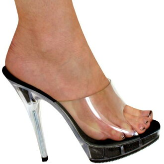 5 inches of high-heeled shoes / pin heel Lady's sandals / import shoes / mule
