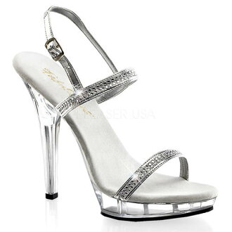 [#SH-PLI-117] 5 inch heels / imported shoes pinherladies Sandals [large size and] /slv/12-14/sandal