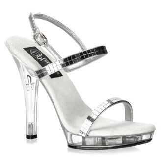 5 inches of [#SH-PLI-117] high-heeled shoes / pin heel Lady's sandals / import shoes [there is big size]
