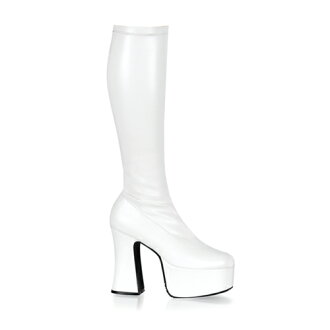 4 ゴスロリ / flat three-quarters inch Lady's high-heeled shoes thickness bottom boots / import shoes