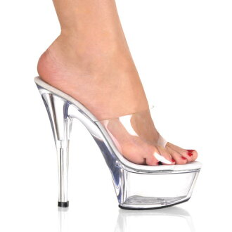 6 inches of [#SH-KISP-201] immediate delivery stock high-heeled shoes / pin heel Lady's sandals / import shoes [there is big size]