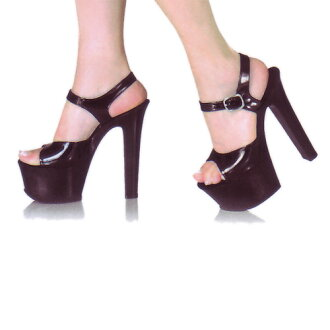 6 inches of high-heeled shoes Lady's sandals / import shoes