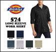 DICKIES(ディッキーズ)LONG SLEEVE WORK SHIRTワークシャツ ロングスリーブ