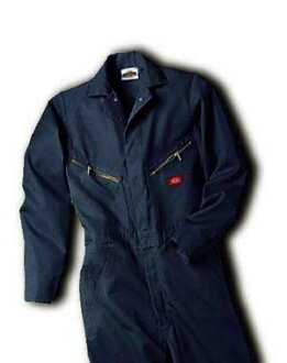 DICKIES ( Dickies ) DELUXE COVERALL - BLENDED Deluxe cover all blend Dark Navy