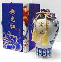 横浜中華街 景徳鎮 女児紅紹興酒(10年) 、1000ml/壺・ 中国酒 、景徳鎮磁壷・化粧箱