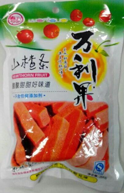 横浜中華街 中国お菓子 サンザシスティック 万利...の商品画像