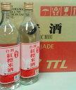 横浜中華街 TTL 稲香 台湾紅標米酒 19.5度、600mlX12本瓶(1ケース売り)、台湾の焼酎甲類・乙類混合天然米酒♪