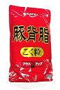 横浜中華街 業務用 エバラ 豚背脂こく粒 800g 、豚背油をミンチにし、数種の