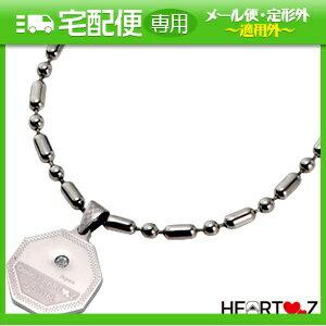 「「ハーツネックレス・ブレスレット」Good-HEARTZ ハーツ スーパーメタリック八角形ネックレス+さらに選べるおまけ付き【smtb-s】