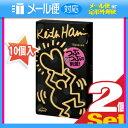 ◆「メール便送料無料」「男性向け避妊用コンドーム」相模ゴム工業 キース・へリング(Keith Haring) ドット 1000 (10個入)...