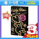◆「メール便送料無料」「男性向け避妊用コンドーム」相模ゴム工業 キース・へリング(Keith Haring) ドット 1000 (10個入) x 3箱セット ※完..