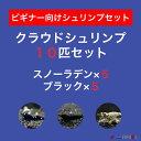 【クラウド10匹セット】スノーラデン5匹+クラウドブラック5匹
