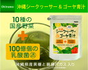 【送料無料】沖縄シークヮーサー&ゴーヤー青汁(3g×30包) 乳酸菌 100億個! 豊富な食物繊維 健康維持 腸内環境を整えお通じの改善に!
