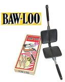 【BAW-LOO】 バウルー サンドイッチトースターダブル