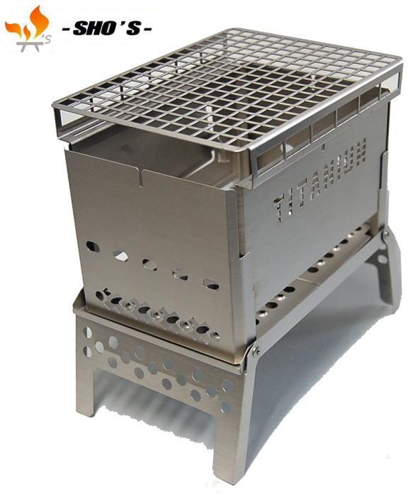 【 笑's 】Mr.B−6All Titanium Grill plate set2-送料無料-