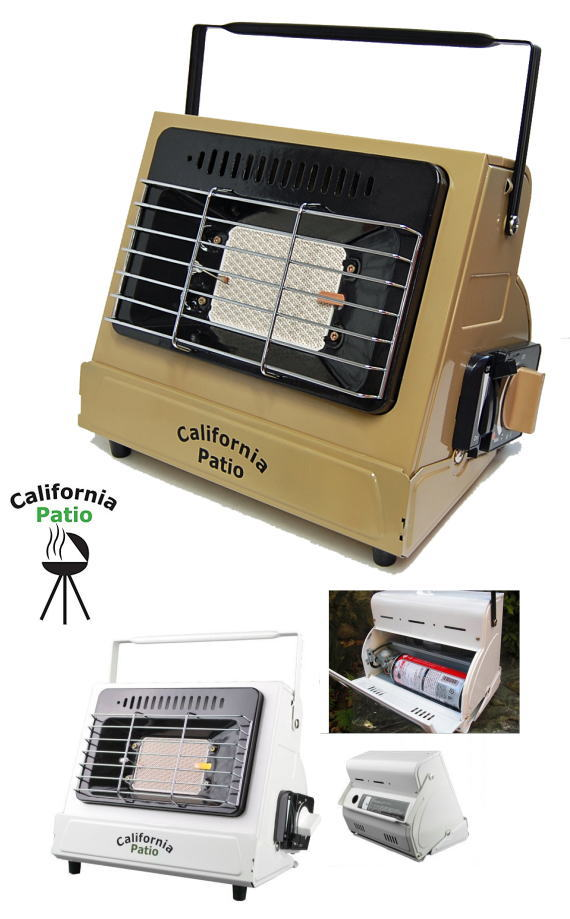 カリフォルニアパティオ カセットガスヒーター