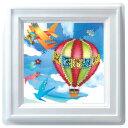 ビーズキット 実用小物・インテリアキット 壁にかけるもの ミニプッシュ 空飛ぶ仲間たち G-411 |ビーズ手芸|TOHO|トーホー|子供向け|簡単|かわいい|可愛い|集中力|気球|飛行機|鳥|藤久|トーカイ|通販|