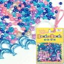 ビーズ Beads・Beads アクリルミックスパック No.4 ブルー 【メール便可】|ビーズ|パーツ|アクリル|ミックスパック|手づくり|手芸|シュゲール|トーカイ|
