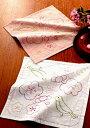 刺繍 刺しゅうキット オリムパス 刺し子 花ふきん(2枚1組) 梅とうぐいす 249 【メール便可】