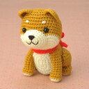 編み物 キット 秋冬向き ハマナカ手芸パック ほっこり柴犬