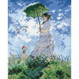 刺繍 刺しゅうキット オリムパス ART GALLERY 日傘をさす女 モネ作