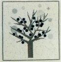 刺繍 輸入キット Haandarbejdets Fremme(フレメ) 雪花の木 【ネコポス可】