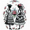 刺繍 刺しゅうキット オリムパス オノエ・メグミ 赤毛のアンの物語 アンとダイアナ                      クロスステッチ 刺繍キット|刺繍キット 刺繍 クロスステッチ 刺繍キット