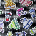 【エントリーでP10倍 1/1(9:59)まで】◆コッカ おそ松さんサンリオキャラクターズ コットン オックスプリント生地 (10cm単位) G-8056 (ネコポス可)