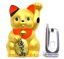 【M154】金運!招き猫貯金箱[特大]金色の招きネコにお金を貯めちゃいましょう♪【新作】【秀光】【限定品】【楽ギフ_のし】【楽ギフ_のし宛書】