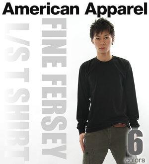 Rakuten champions sale, victory Memorial sale American Apparel Ron T FINE FERSEY l/s T SHIRT 6-color (2007) (XS, S, M, L, XL)