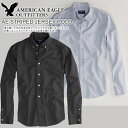 American eagle men casual shirt AE SOLID POPLIN SHIRT (two colors) (0513-8596)(S,M,L,XL) [RCP] 10P06may13