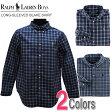 ポロ・ラルフローレン ボーイズ 長袖 カジュアルシャツ チェック Long-Sleeved Blake Shirt 2色 POLO RALPH LAUREN(19757216) ポロラルフローレン RALPH LAUREN プレゼント に! 10800円以上 送料無料!
