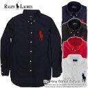 ポロ ラルフローレン ボーイズ 長袖 オックスフォードシャツ Big Pony Cotton Oxford (4色) (POLO RALPH LAUREN)(23947566)(S/M/L/XL),アメカジ,カジュアルシャツ,半袖,メンズ,ヴィンテージ,ロゴ,カジュアル,ポロ,polo,POLO